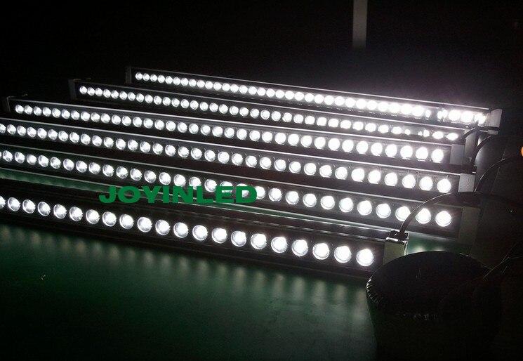 DHL Frete Grátis IP65 Levou Arruela Da Parede de Luz 24 W (24*1 W) de Alta Potência Branco/vermelho/Amarelo/Azul/Verde 24 V 1000*46*46mm Conduziu a Luz de Lavagem - 3