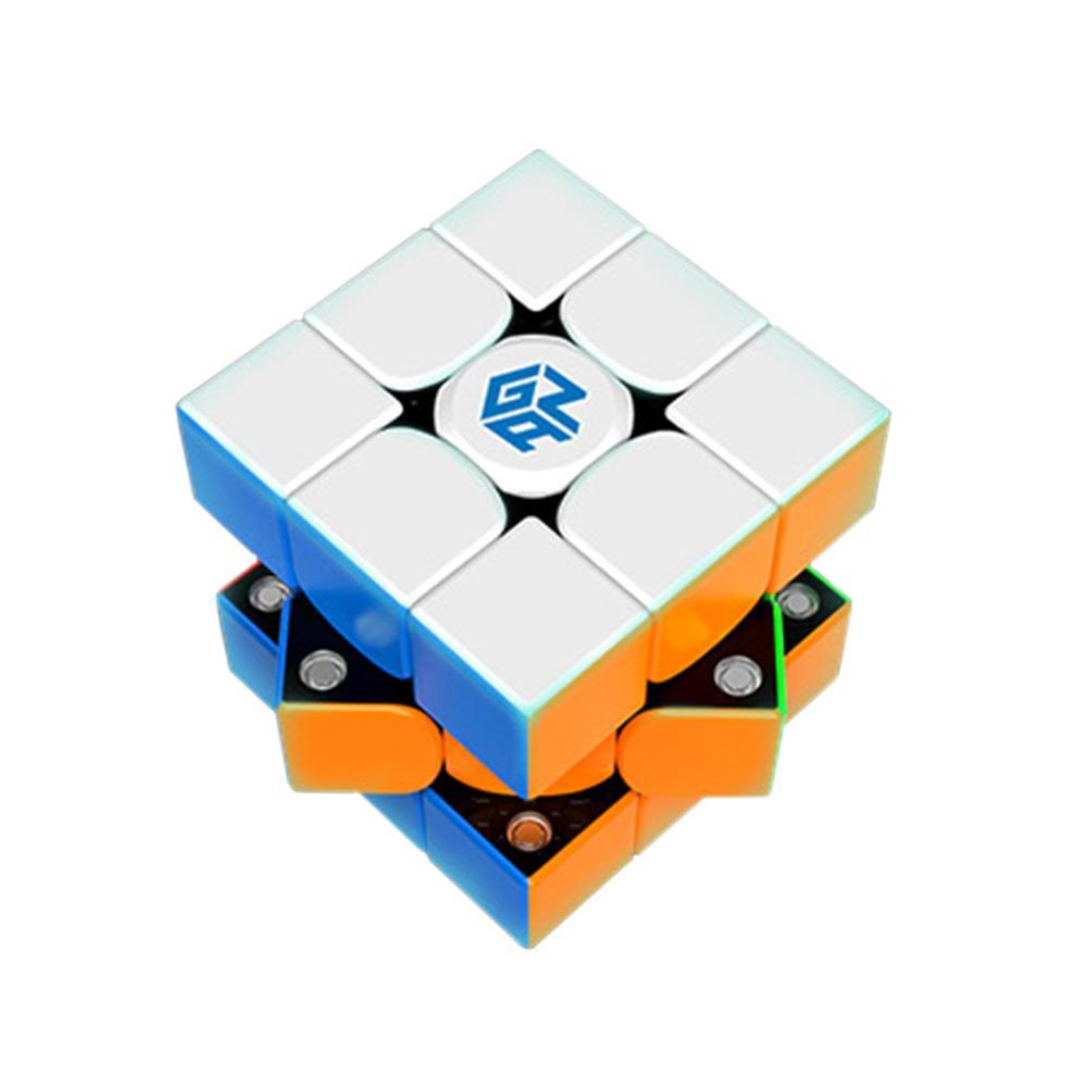 Nouveautés GAN356 X 3x3 Cube magique magnétique amovible jouets éducatifs pour l'entraînement cérébral-IPG V5 + Version Paster colorée