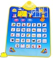 1 pcs 62*55 cm Crianças Aprendendo Mat Tapete Alfabeto Aprendizagem Educação Língua Russa Brinquedo Engraçado Som Fonético Tapete Brinquedo do bebê