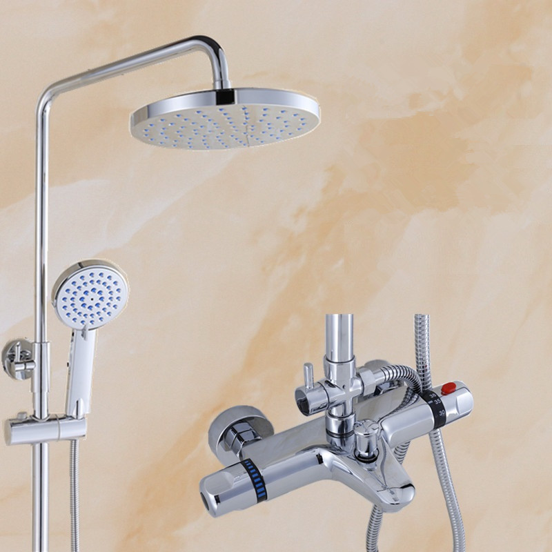 High Quality Bathroom Exposed Bathtub Faucet And Shower
