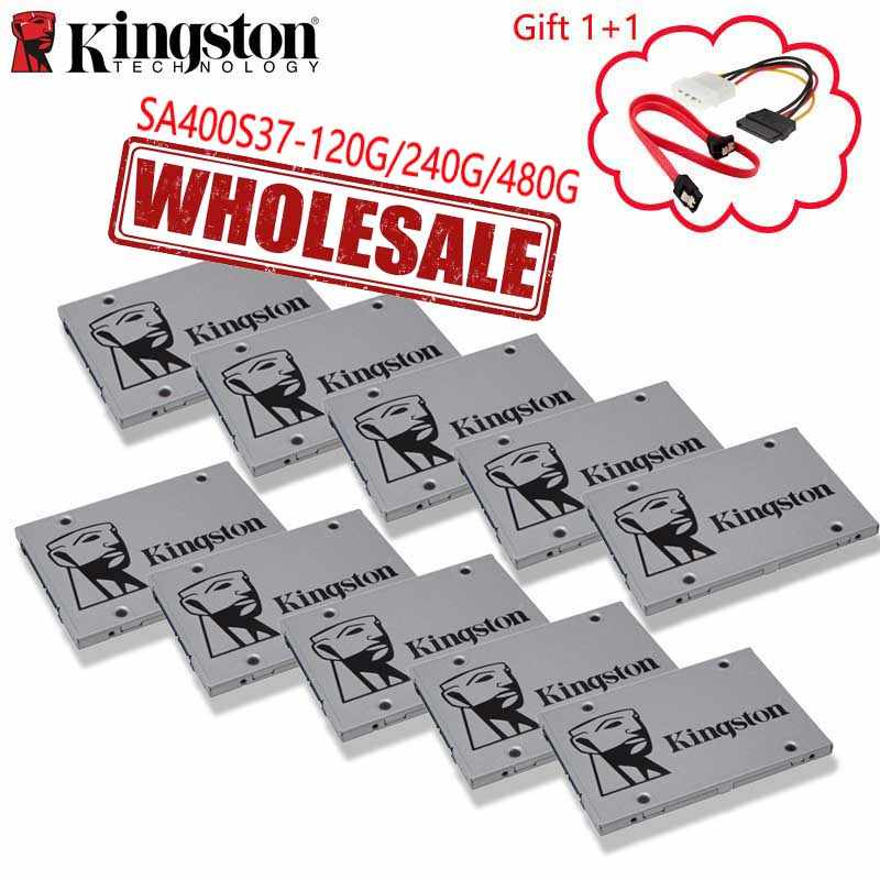 Kingston 100% Original A400 SSD 120GB 240GB 480GB venta al por mayor 2 piezas 5 piezas 10 piezas Notebook PC unidad interna de estado sólido 2,5 pulgadas