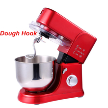 5.5L electric chef home kitchen cooking food stand mixer, cake dough bread mixer machine 1000W 220V