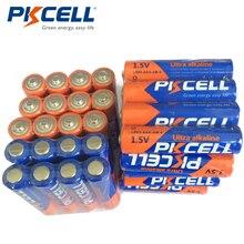 40pcs PKCELL AAA 1.5V סוללות LR03 אלקליין סוללה E92 AM4 MN2400 3A ליחד סוללה עבור מברשות שיניים אלקטרוני thermogun