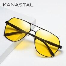 2019 เลนส์สีเหลือง Night Vision แว่นตากันแดด Anti Glare แว่นตาผู้หญิงนักบินสไตล์ UV400