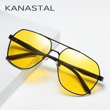 2019 عدسات صفراء اللون للرؤية الليلية النظارات الشمسية الرجال مكافحة وهج نظارات للقيادة النساء ساحة الطيار نمط الظل UV400