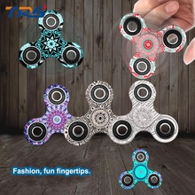 Colorful Hand Spinner Plastic Fidget Spinner Toy For Children Finger Spinning Time 1.5-2.5 Minutes