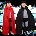 Vampire Costumes Children's Role Play Kids Vampire Cloak for Halloween Cosplay Devil Prince Capes Clothing