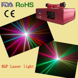 NEW ! 270mW Green+Red+Violet Mixed Full Color Laser Light Show DMX Sound Auto DJ Disco C ...