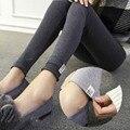 2017 Quente de Primavera Maternidade Calças Legging Magro Legging Elástica para As Mulheres Grávidas