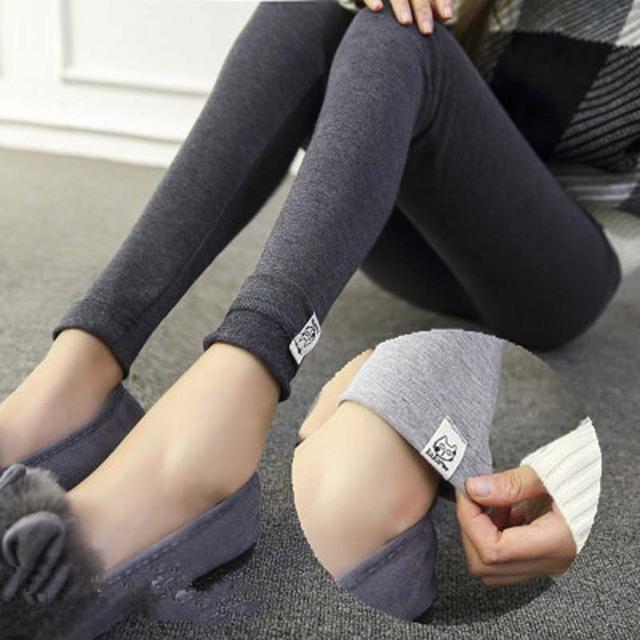 2017 Resorte Caliente Pantalones Legging Delgado Elástico Legging de Maternidad para Las Mujeres Embarazadas