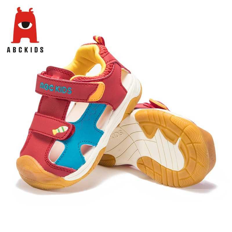 Abckids 2-7T Primavera Verano deporte niños zapatos Unisex calzado para deportes al aire libre cómodo antideslizante zapatillas para niños