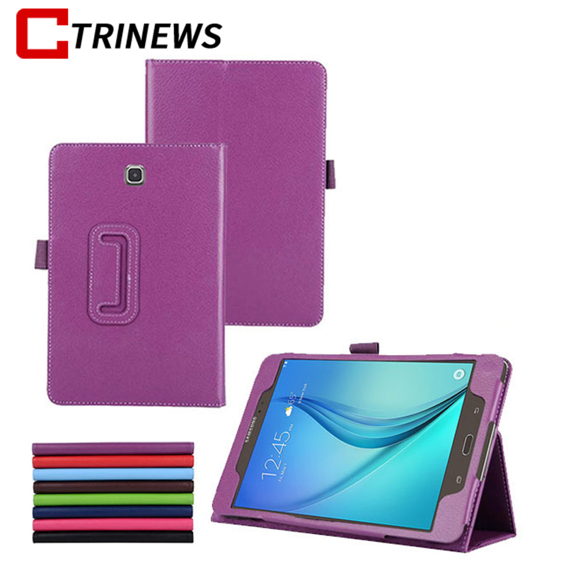 For Samsung Galaxy Tab A T350 Stand PU Leather Cover Case for Samsung Galaxy Tab A 8.0 T350 T355 Tablet Leather Case luxury flip stand case for samsung galaxy tab 3 10 1 p5200 p5210 p5220 tablet 10 1 inch pu leather protective cover for tab3