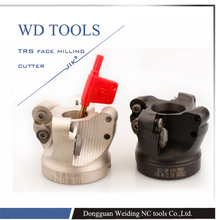 Cnc Router Bit Trs 8R63-22-4T, Round Nose Surface Nc Cutter, Milling C Cutter Head,use Insert Is RdmT10T3