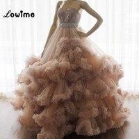 클라우드 댄스 파티 드레스 푹신한 Vestido 드 페스