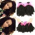 Pelo malasio de la Virgen Aunty Funmi Bouncy Rizos Envío Libre Barato Pelo Fummi Enrollamiento romántico Armadura de Nigeria Aunty Funmi Pelo Rizado