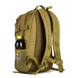 Image 4 - Waterproof 25L Molle Tactical Bag Mens Military Rucksack Nylon Climbing Bag Fishing Hiking Hunting Backpack For 14 Laptop