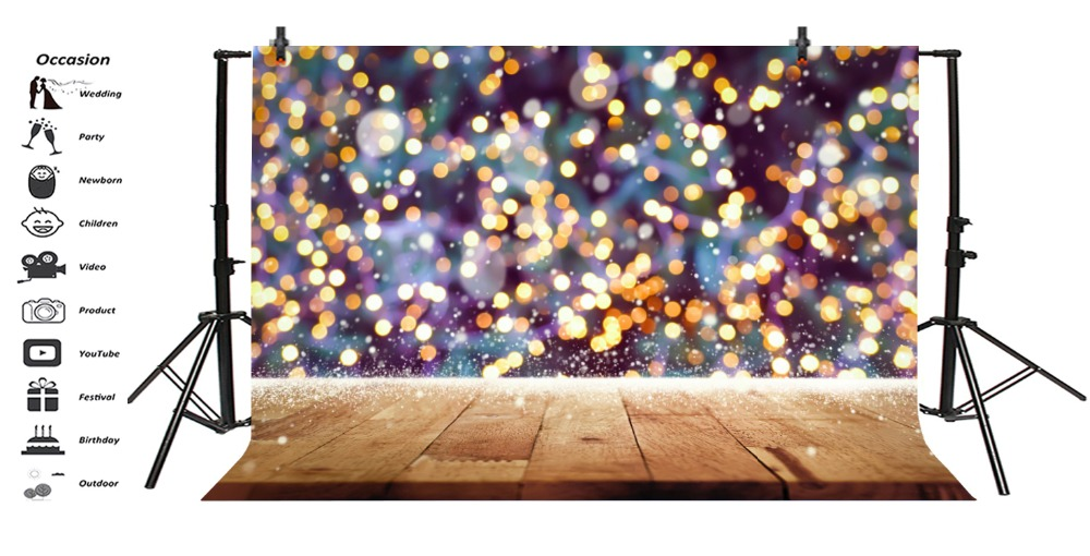 Laeacco Shiny Polka Dots Fantasy Wooden Board Love Child Kid Portrait Party Photo Backgrounds Backdrops Photocall Photo Studio in Background from Consumer Electronics