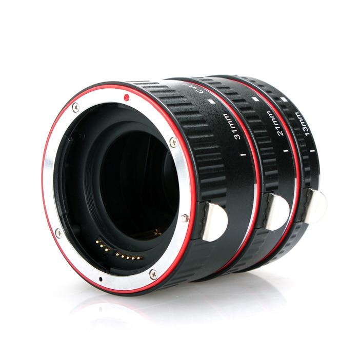 Aputure AC-MC Auto Focus Macro Extension Tube Ring for Canon EOS Lens Focus Macro Extension Tube Set macro extension tube for sony e mount ac ms silver grey