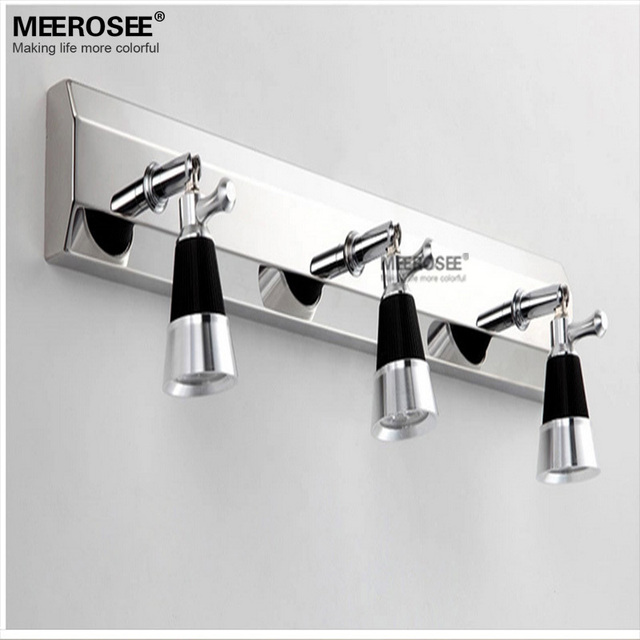 9 vatios LED luz Espejo apliques de pared LED Contemporáneo baño ...