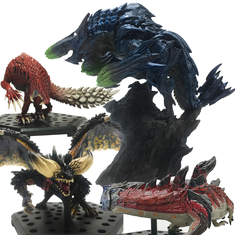 Japan Monster Hunter World Ancient Dragon Model Toy Collectible Monster Figures Action Monster Hunter Game Accessories