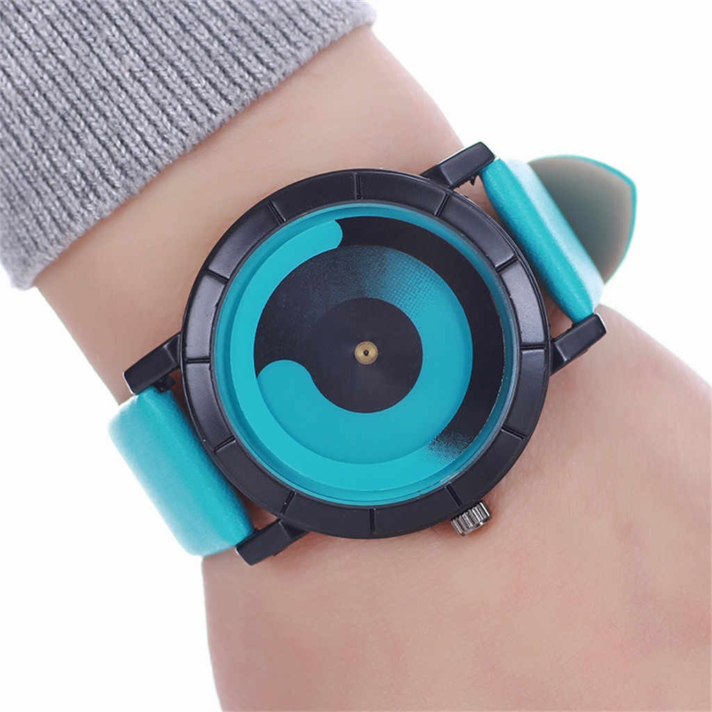 Watch Women Fashion Casual Cool Unique Pointer Multicolor Style Belt Ladies Watches Quartz Zegarek Damski Wristwatch Reloj Mujer