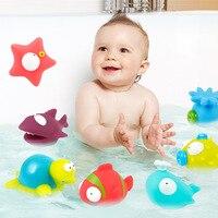 9 sztuk/zestaw Nietoksyczne zabawki Do Kąpieli Kąpiel Winylu Zabawki Edukacyjne Dla Dzieci Miękkie Pływak Wody Gry Zabawy Gry Newborn Chłopcy dziewczyny Zabawki