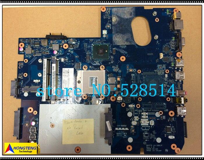 original  LA-5881P For Gateway NV79  Motherboard Non-Integrated 100% Test ok