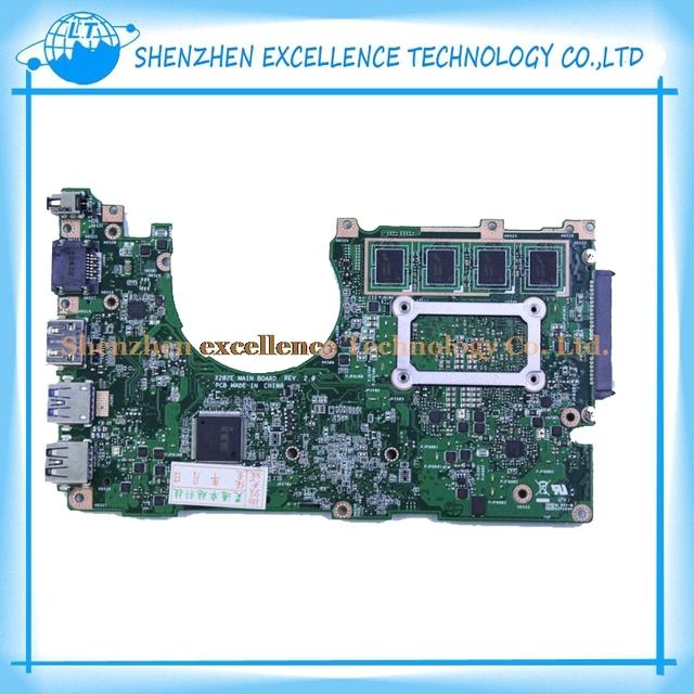 Placa madre del ordenador portátil para asus vivobook x202e-dh31t x201e s200e x202e 4 gb rev 2.0 hm70 60-nfqmb1700-b02 847 1007 cpu gma