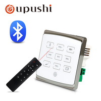 oupushi A1 N Home Audio video ,Bluetooth digital stereo wall amplifierr, Home Theater Digital Cinema with Light bulb switch