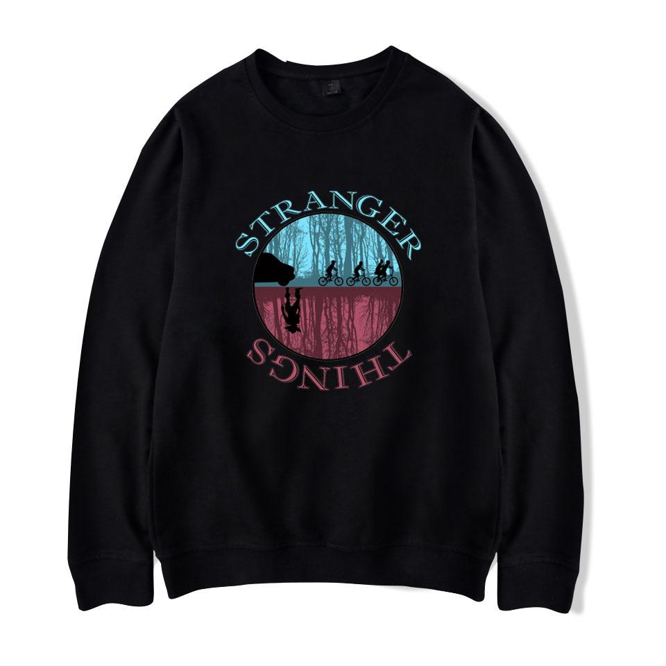Stranger things Sweatshirts auturm winter hoodies sweatshirt hoodies Pullovers Print Long sleeved Hoodied Stranger things