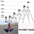New super mini projector Tripod 4 Sections flexible portable Tripod with Phone Holder for Digital Camera Projector smartphone