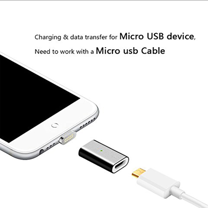 Magnetic micro USB Conver for xiaomi mi8 one plus 6 to iOS Android Type c Suntaiho Magnetic Adapter Charging Cable USB c note 8