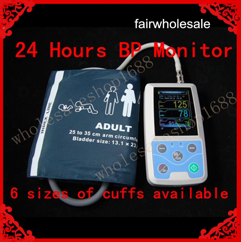 24 hours Ambulatory Blood Pressure Monitor Holter ABPM 2017 NEW abpm50 24 hours ambulatory blood pressure monitor holter abpm holter bp monitor with software contec