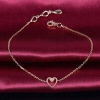 18K Gold Diamond Bracelet For Women K Rose Gold Natural Diamond Bangles Wedding Engagement Ceremony For
