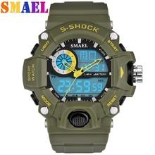 Smael fashion men's sports watch man waterproof outdoor pedometer digital watch swimming diving watch Reloj Hombre Montre Homme