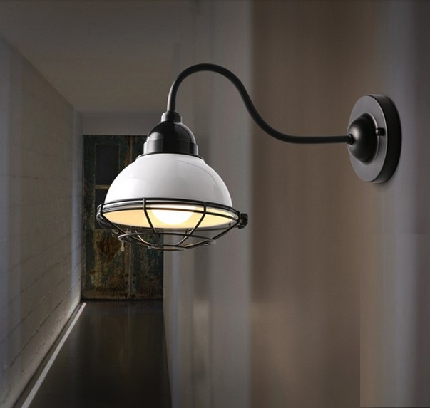 Loft Style Iron Vintage LED Wall Light Fixtures Industrial Wall Sconce For Bedroom Bedside Wall Lamp Home Lighting Lampara antique loft style vintage led wall light fixtures iron wall sconce for bedside wall lamp indoor lighting lampara