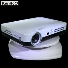 1080P 3D Projector Pico DLP Projector 1280*800 Portable Proyector 2D Moive Can Change To 3D Moive Normal HD Beamer Kenitoo Sale