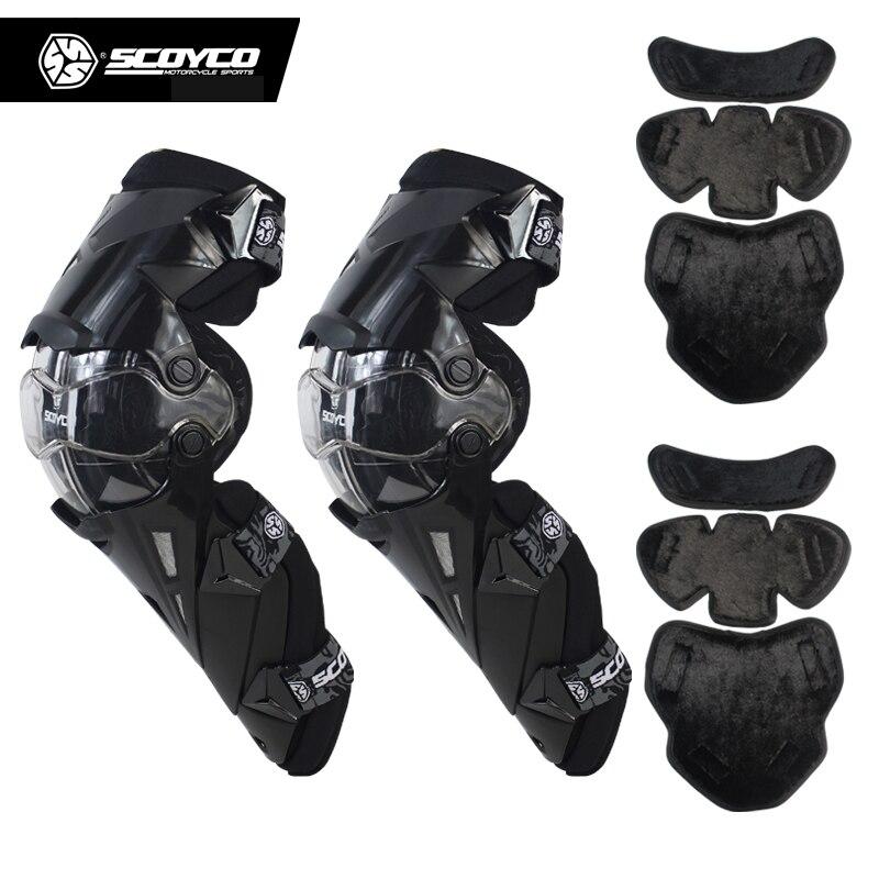 Approbation CE Scoyco K12 déplacer librement moto rcycle genouillère moto cross course genouillères MX moto genouillères en gros
