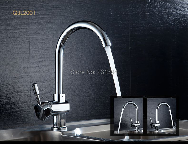 8 models chrome plated brass rotation kitchen sink mixer faucet vegetables basin sink tap supporting 60cm - Kitchen Sink Models
