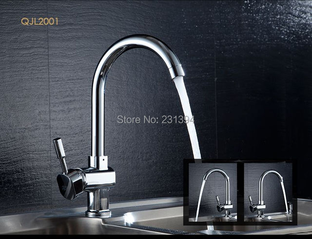 Sink Tap Modell : Models chrome plated brass rotation kitchen sink mixer faucet