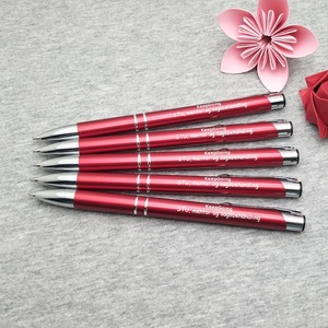 Image 1 - Wholesale Metal Ballpens 40pcs a lot best holiday business gifts personalized business gift idea custom with your own text FREE
