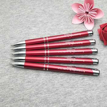 Wholesale Metal Ballpens 40pcs a lot best holiday business gifts personalized business gift idea custom with your own text FREE - DISCOUNT ITEM  23% OFF All Category
