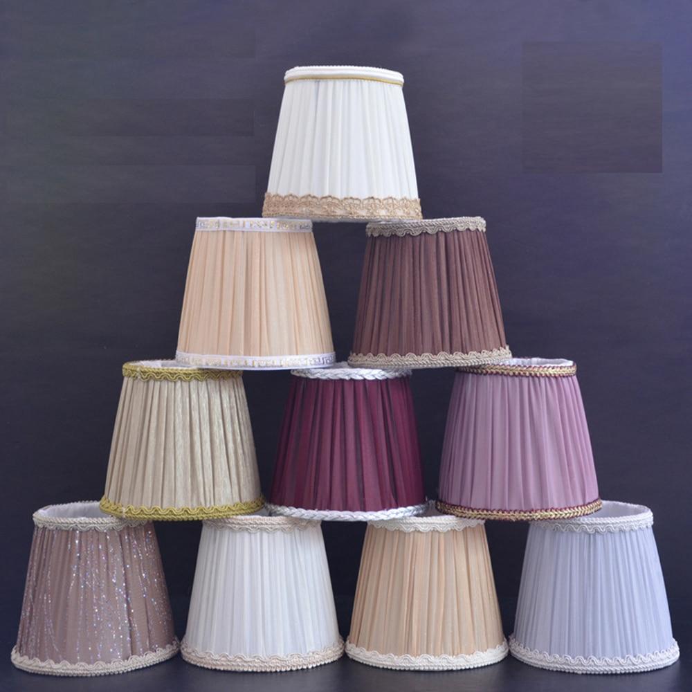 Living Room Lamp Shades: Fashion Chiffon Cloth Lampshade Cover Table Lamp Living