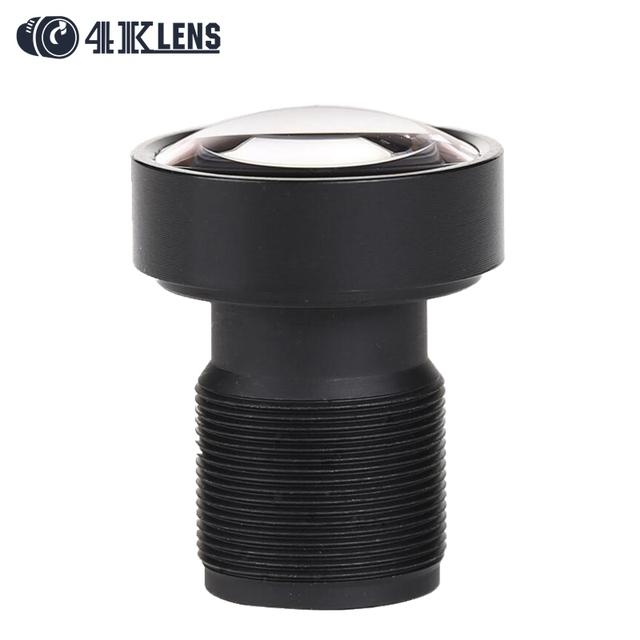 """4 k lente 1/2. 3 """"3.8mm gopro lente m12 mount baja distorsión para hero 4 16mp cámara negro 2016 recién venida"""