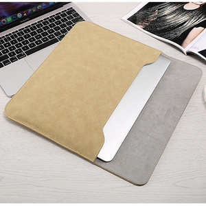 Image 5 - Matte Laptop Sleeve Bag For Macbook Air 13 A1932 11 12 15.4 New Pro 15 Touch Bar Notebook Case For Xiaomi 13.3 15.6 Scrub Cover