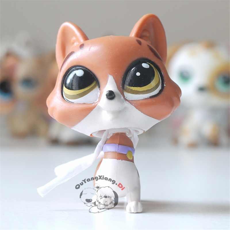 CWM040 Pet Shop Animais gatinho impertinente gato boneca action Figure