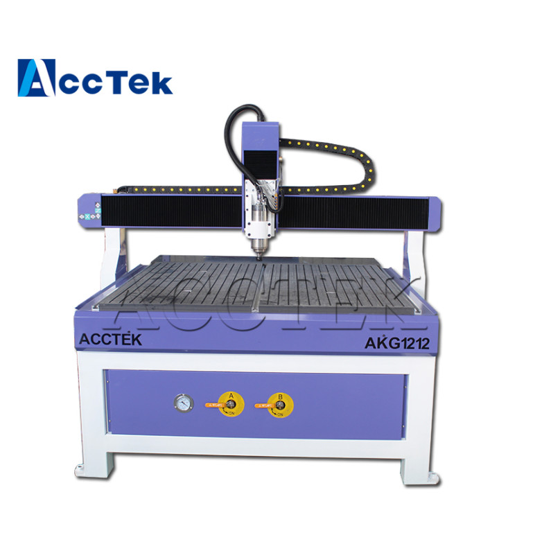 ACCTEK CNC Engraving Machine 1212 Wood CNC Router 2.2KW 3KW Spindle 1200*1200*200mm China Wood CNC Engraver Factory Price