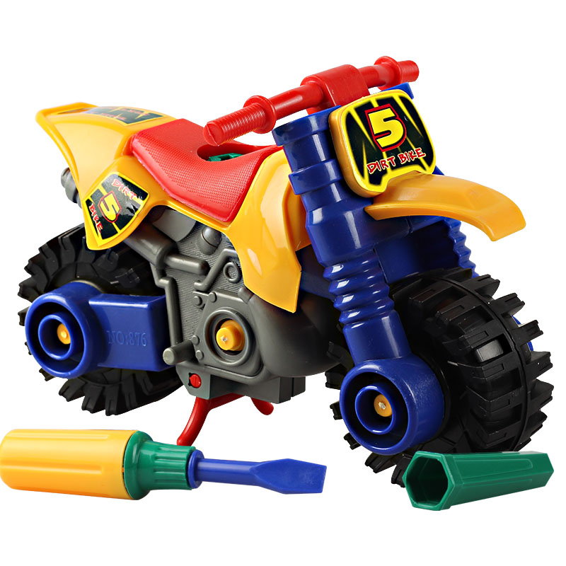 Motorcycle Toys For Boys : Plastic motorcycle toys for boys baby puzzles puzzle