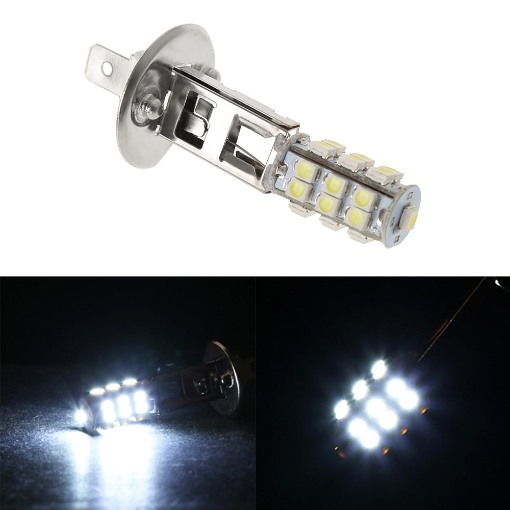 2Pc High Power H1 HID 25 SMD LED Headlight Lamp Bulb Fog Xenon Pure White Bright 6000K-in LED Bulbs & Tubes from Lights & Lighting