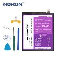 New NOHON 4000mAh Battery For XiaoMi RedMi Note 4 HongMi Note4 3 85V High Real Capacity